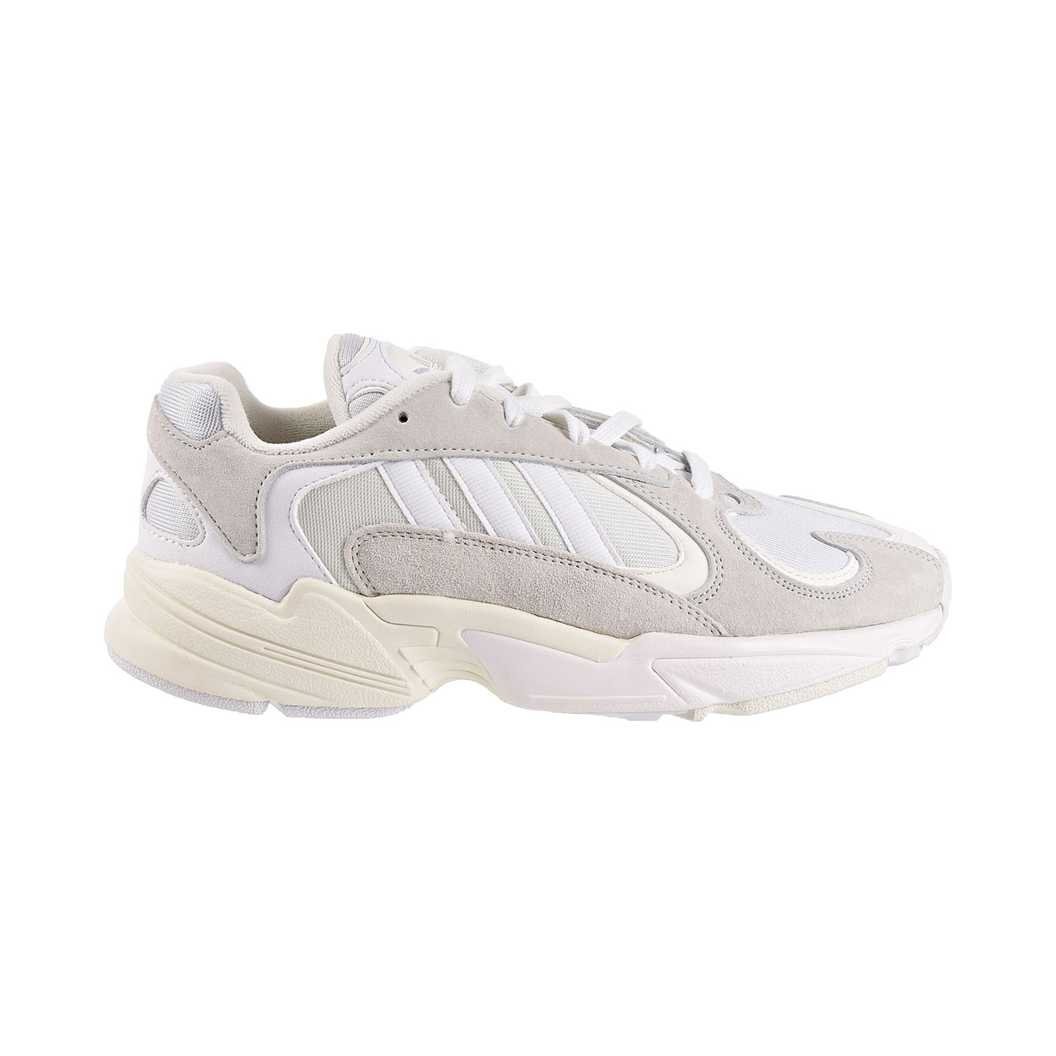 Details about Adidas Yung 1 Mens Shoes Cloud White Cloud White Footwear White b37616