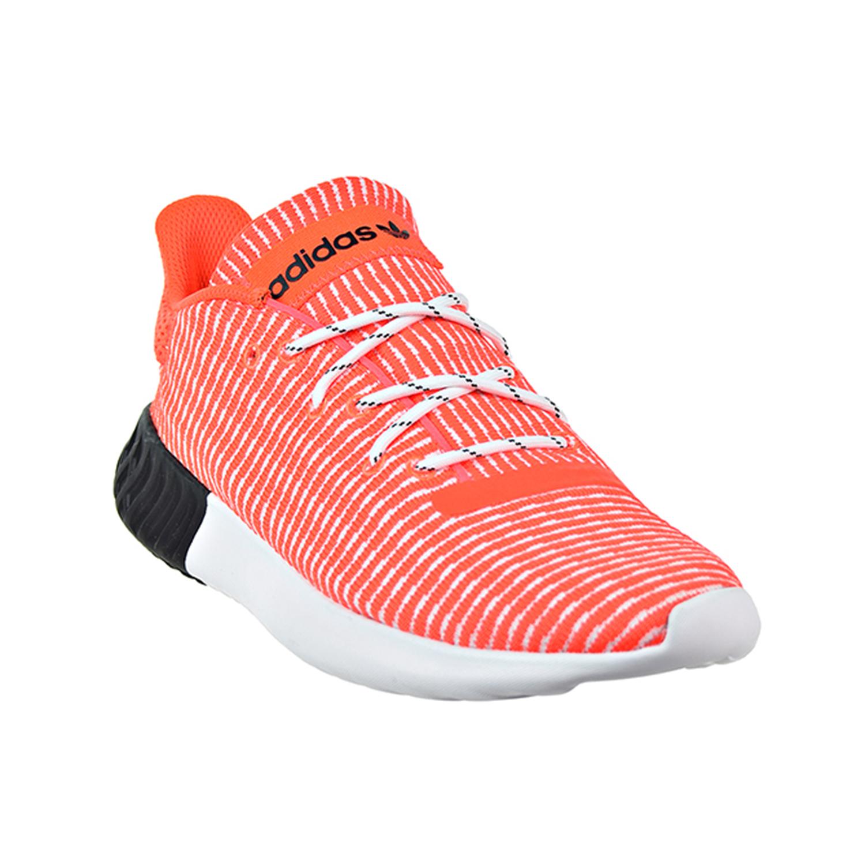 c5608913f Adidas Tubular Dusk Primeknit Men s Shoes Solar Red Cloud White Core Black  b37737