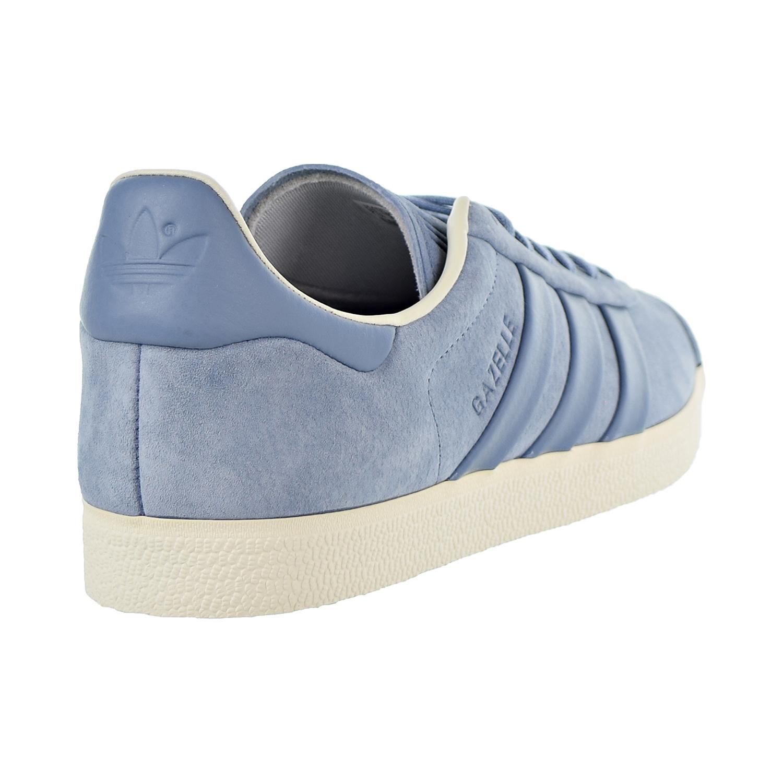 b6c29b96956e1 Details about Adidas Gazelle Stitch-And-Turn Mens Shoes Raw Grey/Raw  Grey/Off White b37813