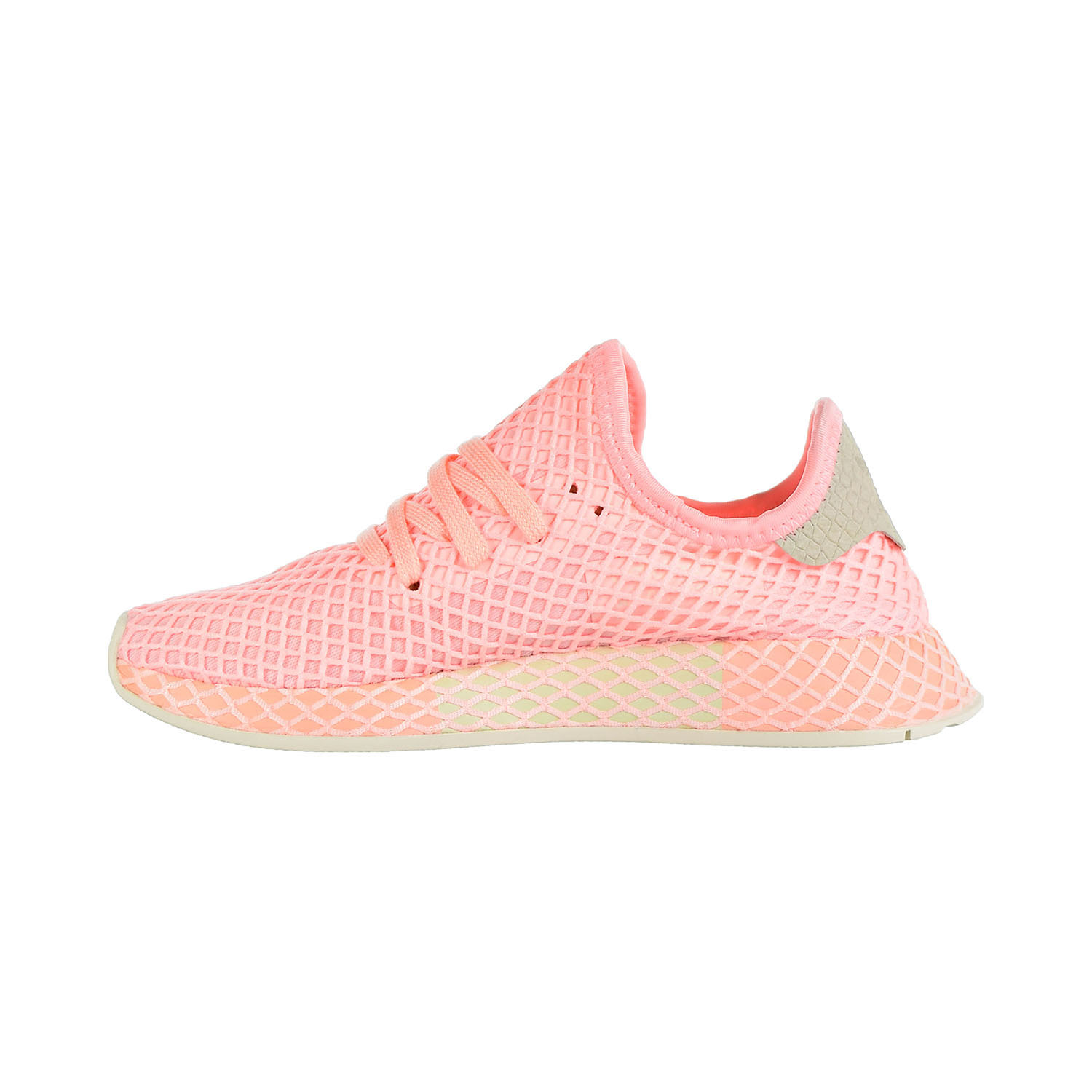 3e6ce5bbd Adidas Deerupt Originals Women s Shoes Clear Orange Off White B41727 ...