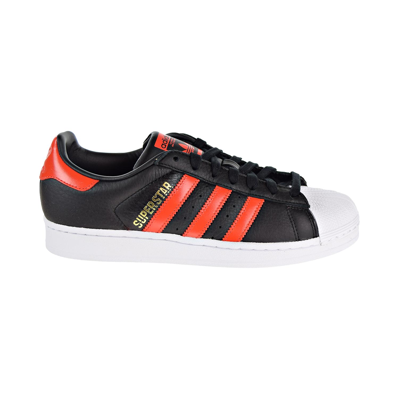 watch a9a6e 11996 Details about Adidas Superstar Mens Shoes Core Black/Bold Orange/Cloud  White b41994