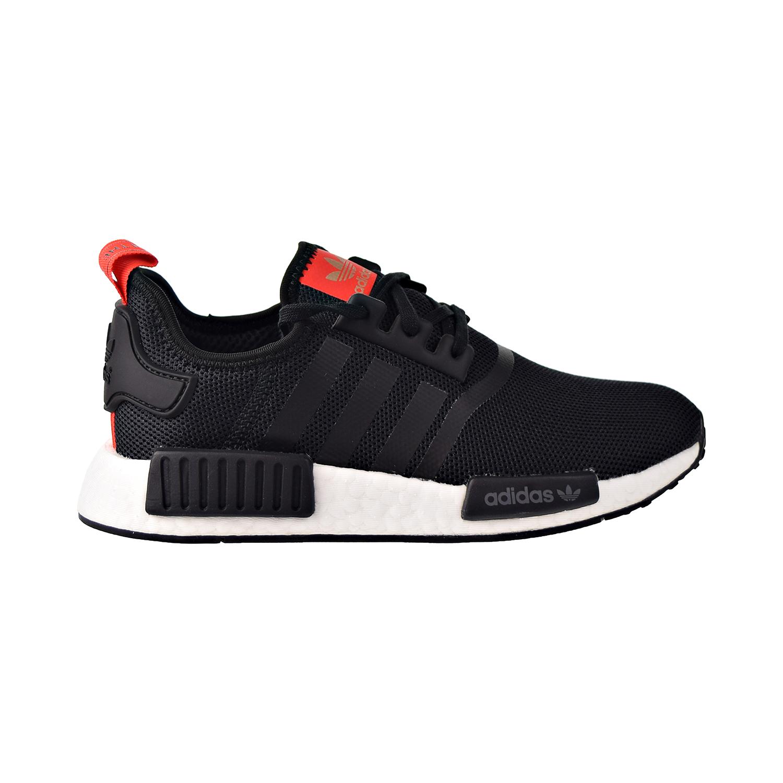 Adidas Nmd R1 Big Kids Shoes Black White Red B42087 Ebay