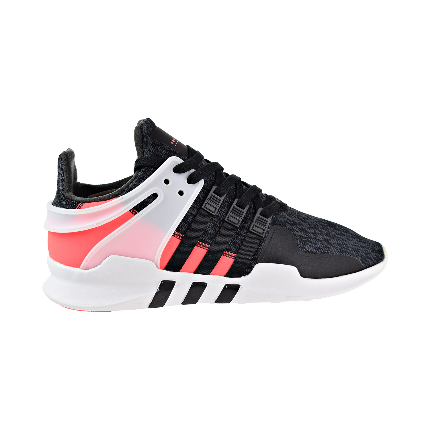 new product 3124b f45fa Details about Adidas EQT Support Adv Mens Shoes Core BlackCore BlackTurbo  bb1302