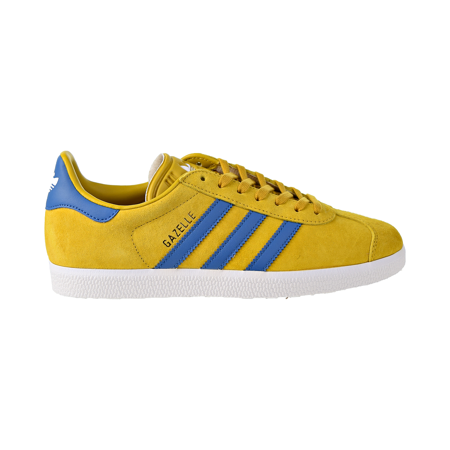Details about Adidas Gazelle Mens Shoes ST Nomad Yellow Core Blue Footwear White BB5258