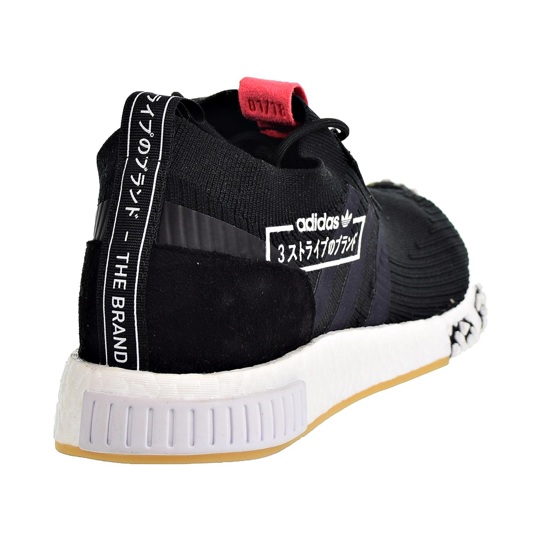 6535ef66c0a26 Adidas Originals NMD Racer Primeknit Men s Shoes Core Black Core Black Flash  Red bb7041