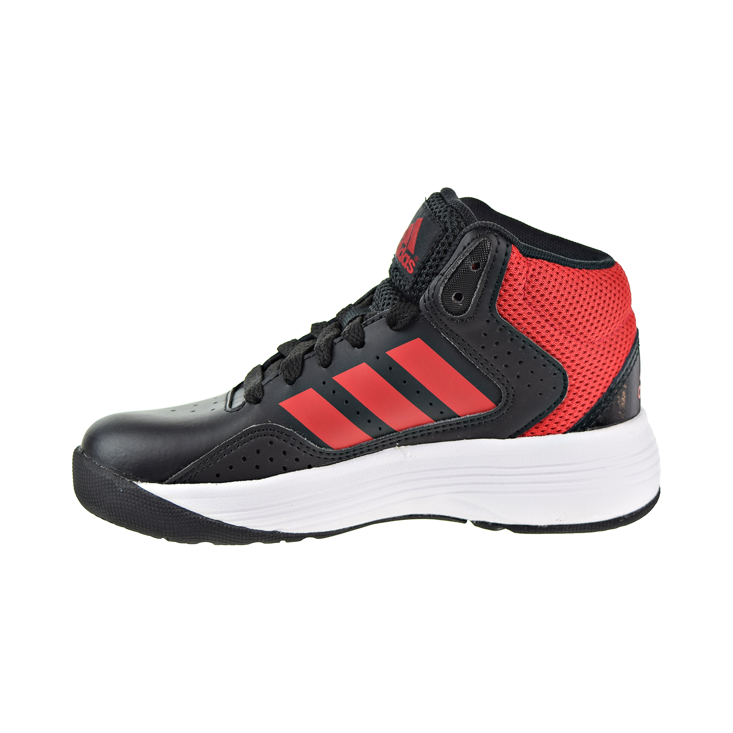 Adidas Cloudfoam Ilation Mid K Big Kids Little Kids Shoes Black Red White  bb9964 9d9744798