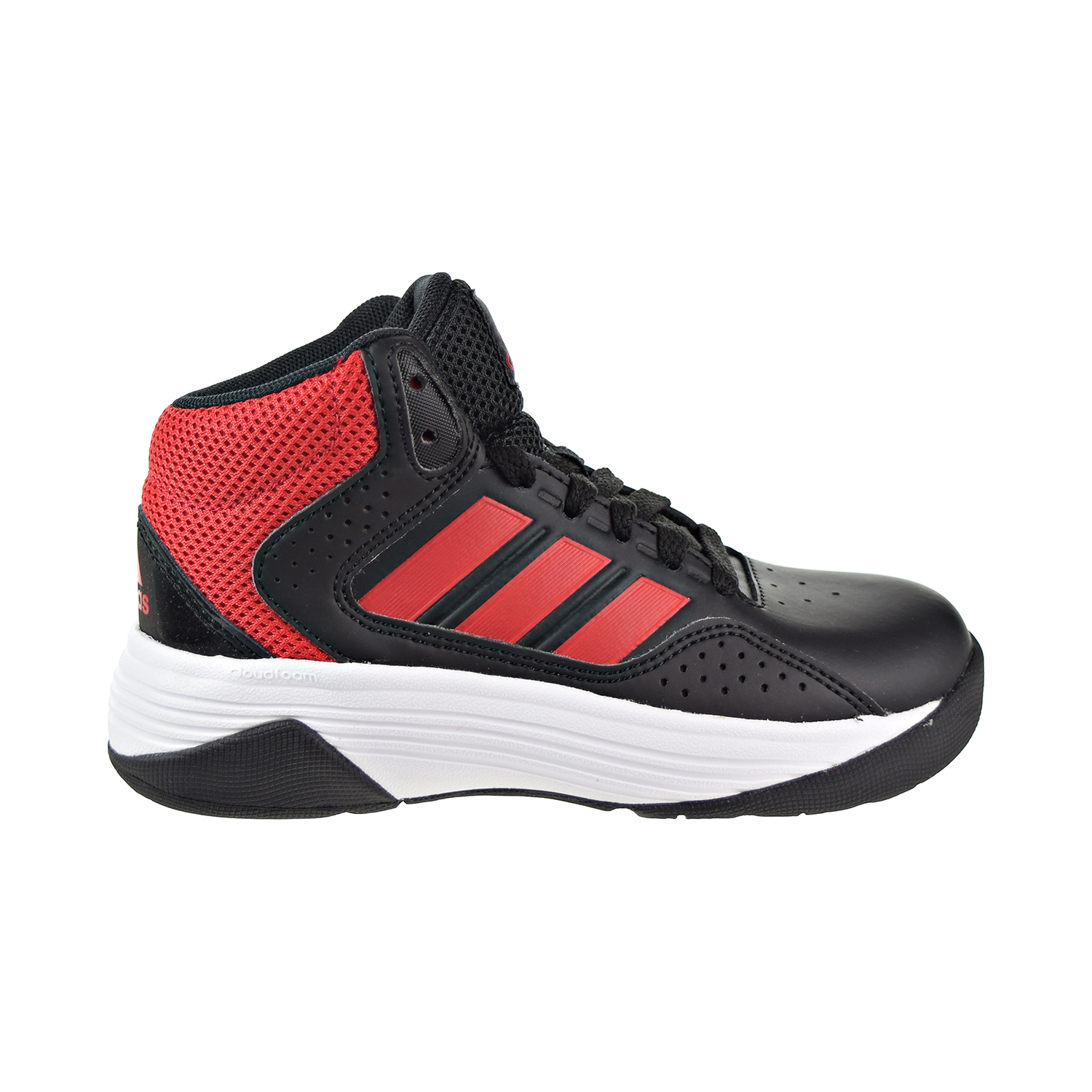 Details about Adidas Cloudfoam Ilation Mid K Big Kids Little Kids Shoes  Black Red White bb9964 229056ed7