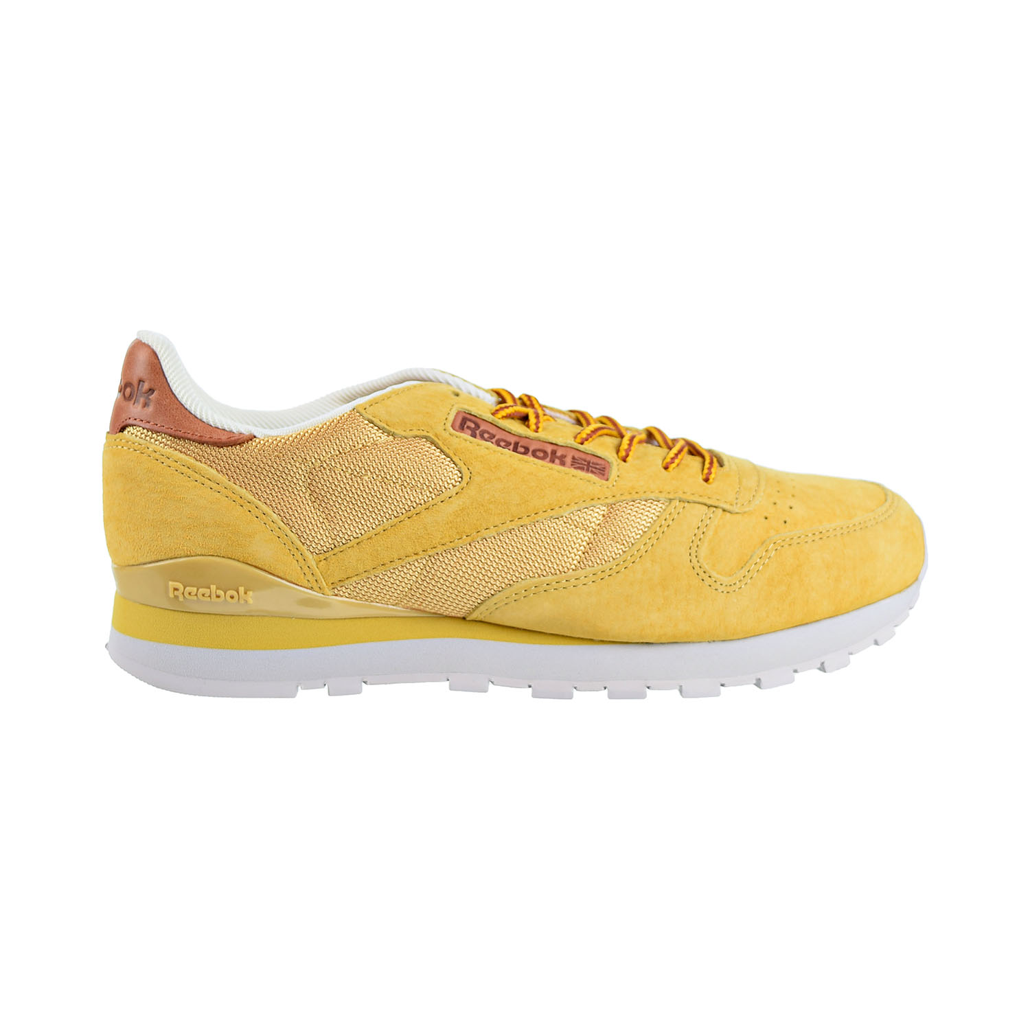 Details about Reebok Classic Leather OL Mens Shoes Golden Wheat Steel Gold bd2037