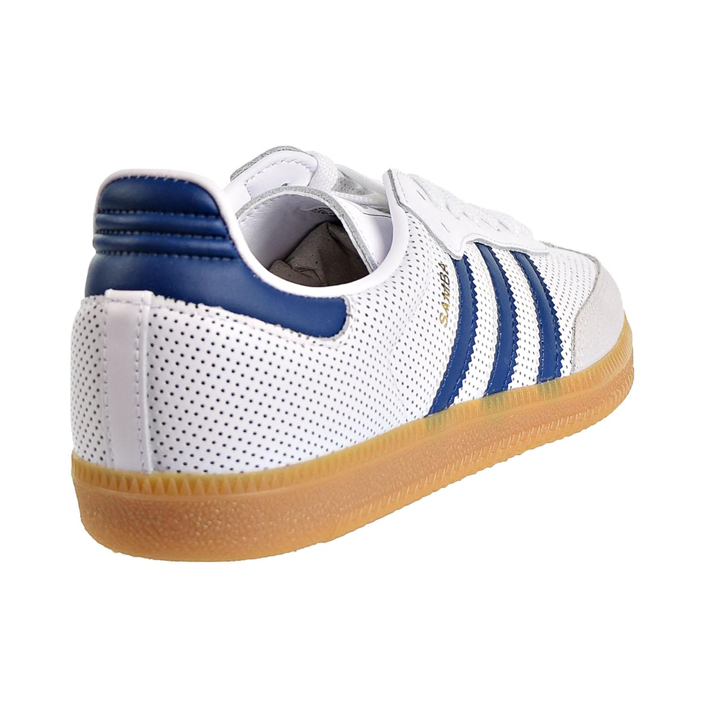 Details about Adidas Originals Samba OG Men's Shoes Cloud White Legend Marine bd7545