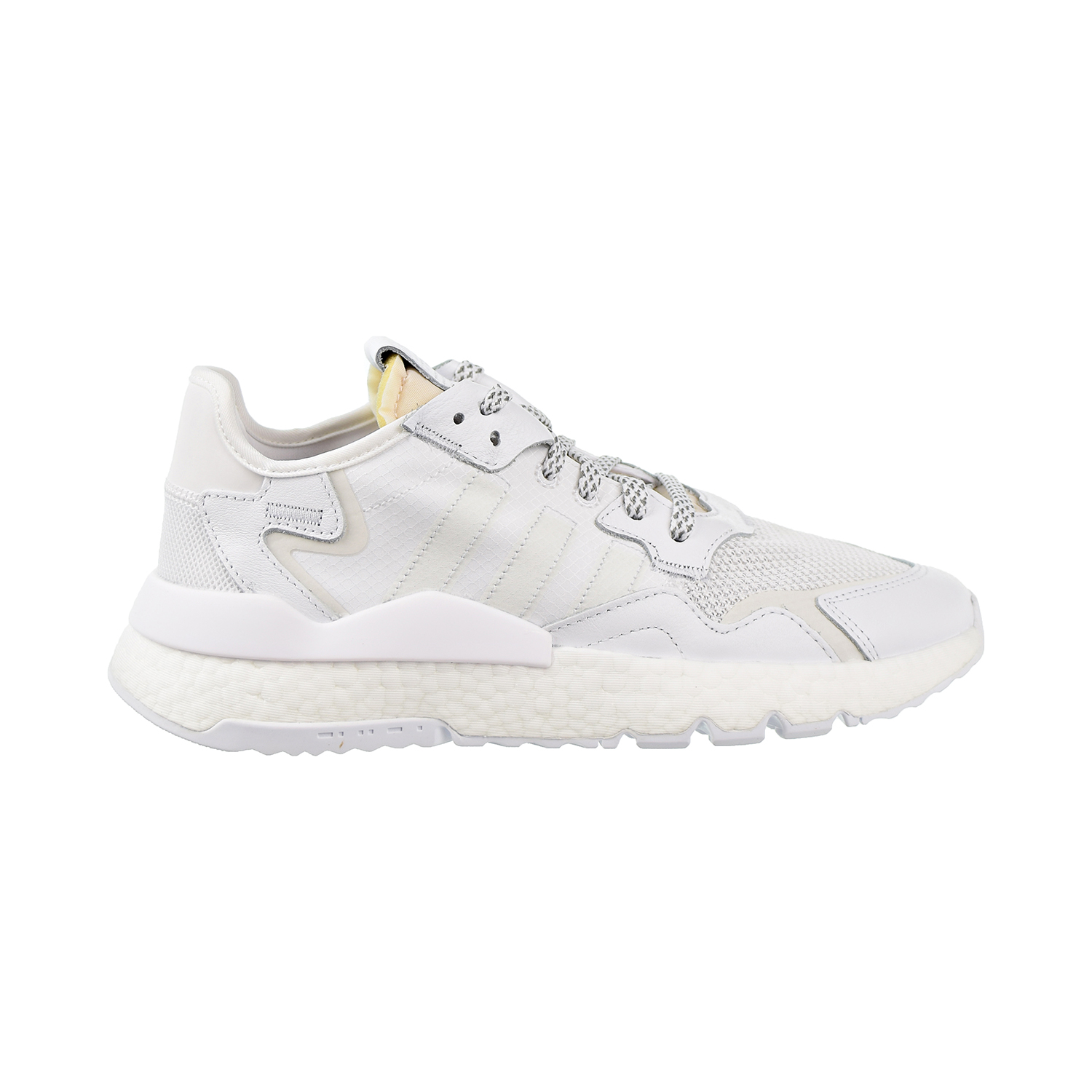 Adidas Nite Jogger Mens Lifestyle Shoes Boost Cloud White