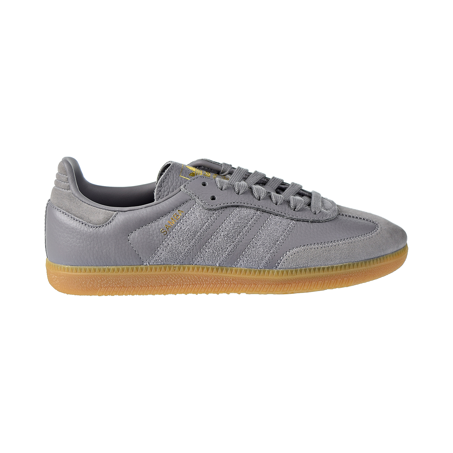 Details about Adidas Samba OG FT Mens Shoes Grey Three-Grey Three-Gold  Metallic BD7963