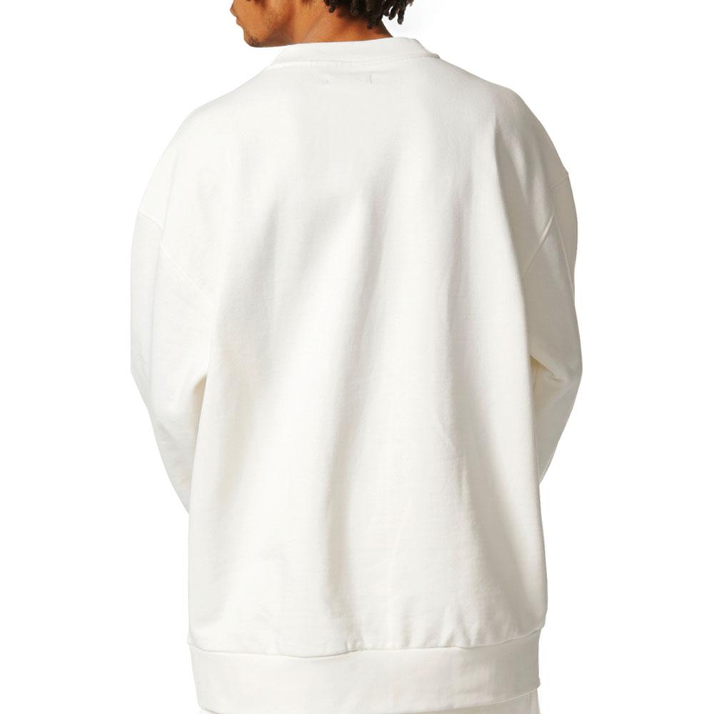 Adidas Originals ADC Oversize Crewneck Men/'s Sweatshirt Off-White bq1801