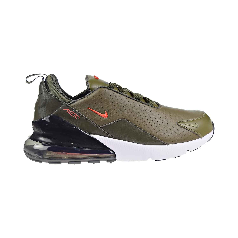Kinder Nike Air Max 270 Trainer Medium Olive Schwarz
