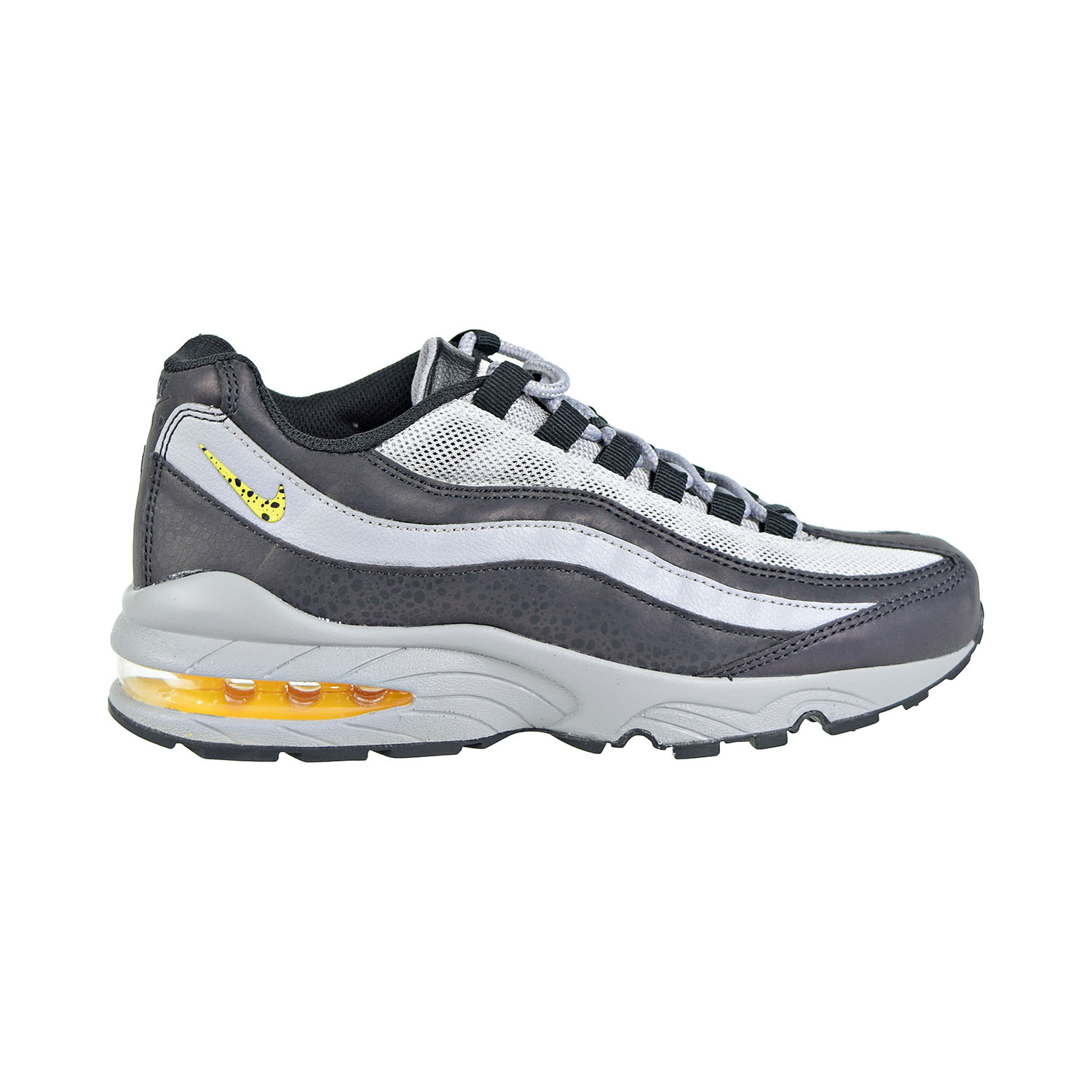 0f572d039 Details about Nike Air Max 95 Big Kids' Shoes Off Noir/Dynamic Yellow  BV1245-001