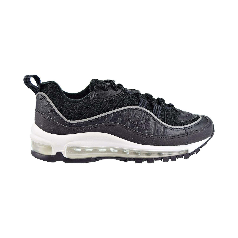 Details about Nike Air Max 98 Big Kids Shoes Oil GreyOil GreyBlackBlack bv4872 002