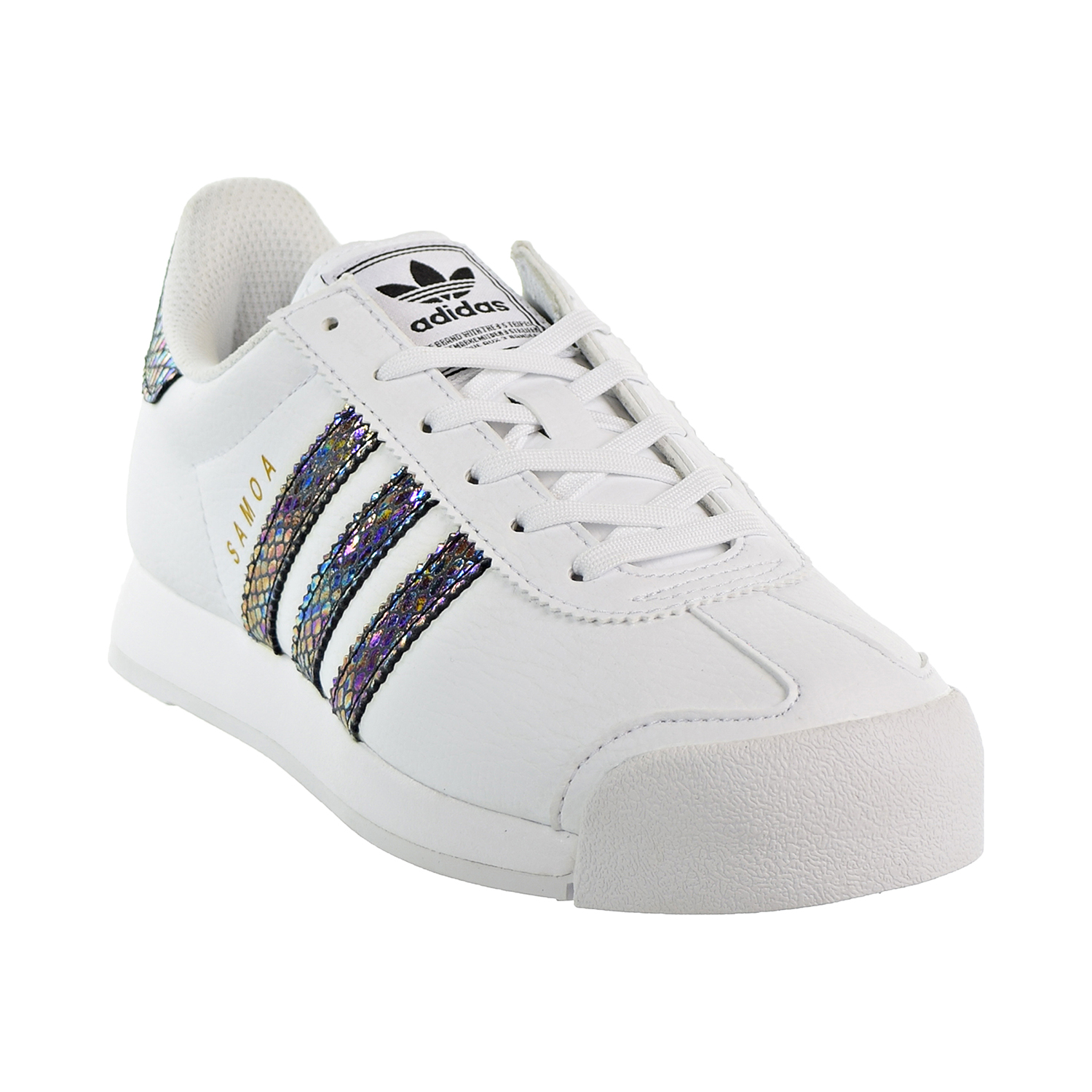 huge selection of c8b75 0016a Adidas Samoa J Snake Big Kids  Shoes Footwear White Footwear White Core  Black bw1303. Description. The adidas Originals ...