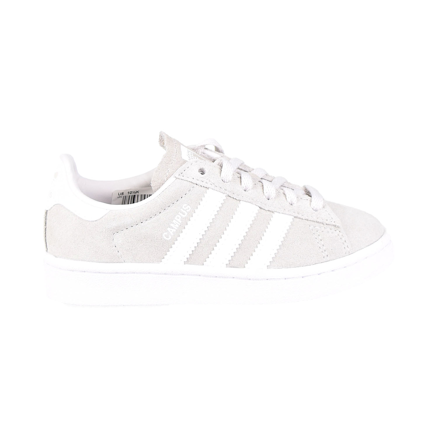 Adidas Campus Little Kids Shoes Grey-White BY2376 | eBay