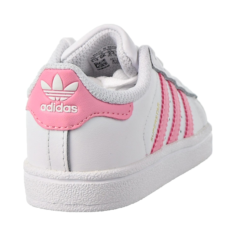 Pantano Abundantemente mezcla  Adidas Superstar I Toddler Shoes Footwear White-Light Pink-Gold Metallic  BY3720 | eBay