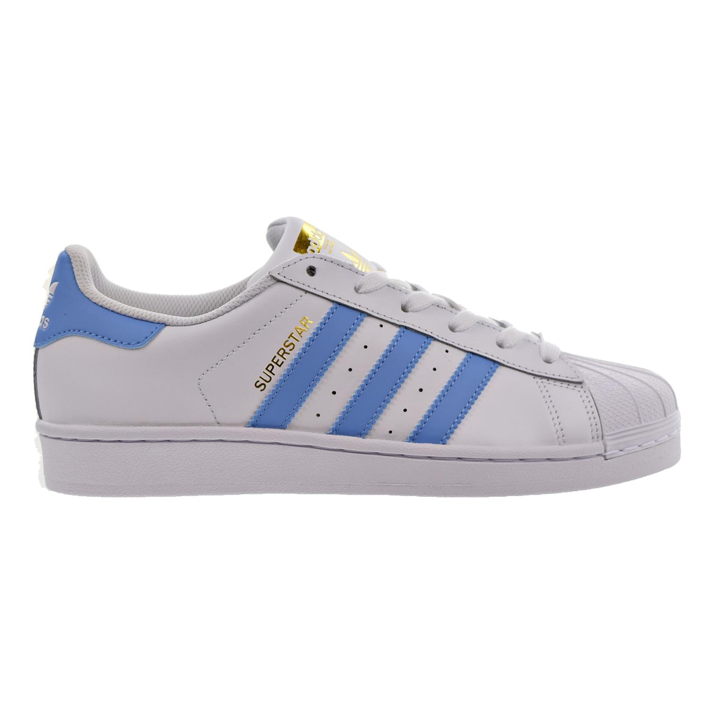 adidas superstar light blue womens