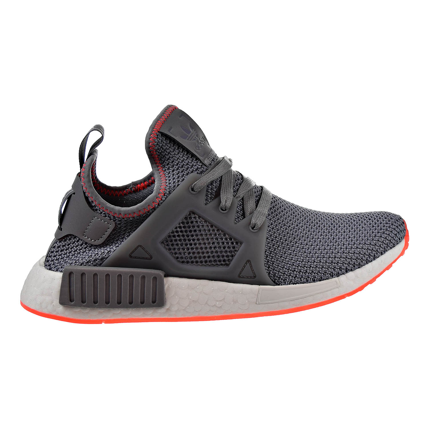 adidas Originals NMD XR1 Mens Shoes Grey//Solar Red BY9925