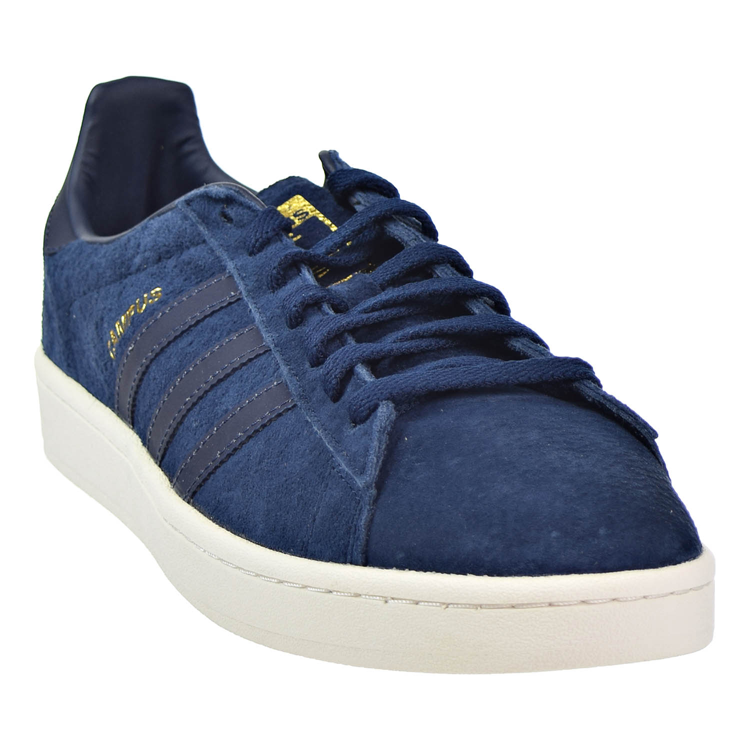 510a13abaa6793 Adidas Campus Mens Shoes Collegiate Navy Reflective Gold Metallic bz0073