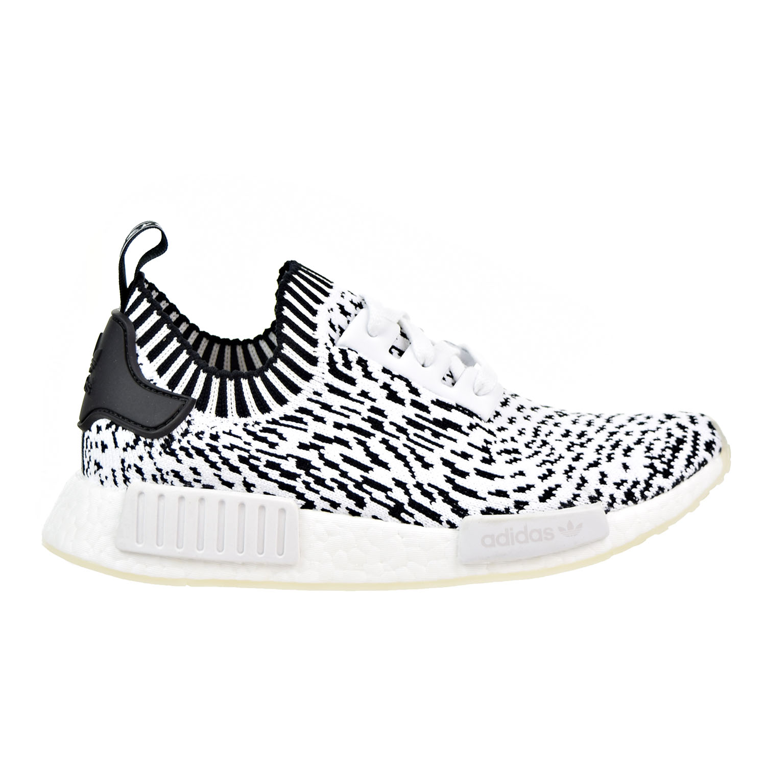 new style 8a668 cfeee Details about Adidas NMD_R1 Primeknit Men's Shoes White/Core Black bz0219