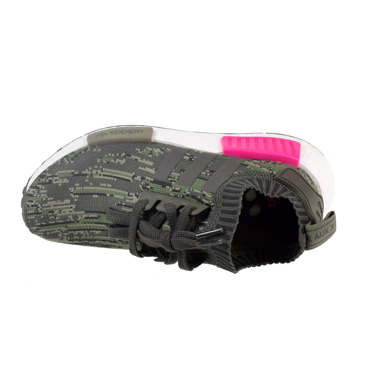 f14c63201 ... coupon adidas nmdr1 primeknit mens big kids shoes utility grey shock  pink bz0222 f3260 8af64 ...