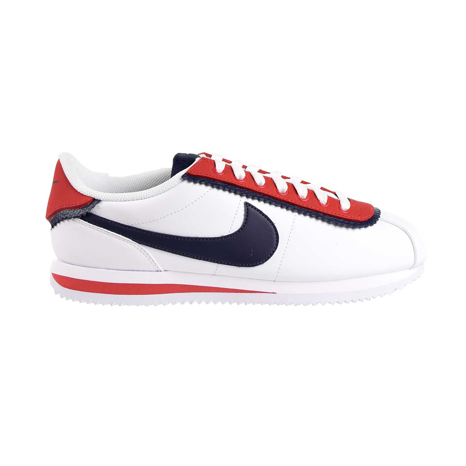 buy popular b9361 44aae Details about Nike Cortez Basic SE Mens Shoes White/Obsidian/University Red  CD7253-100