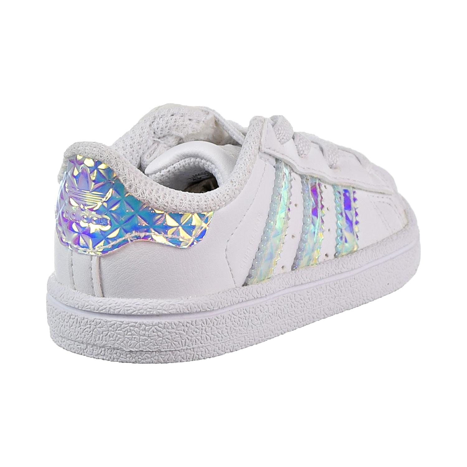 Adidas Superstar EL Toddler s Shoes Cloud White Cloud White Cloud White  cg3598 9a70020c5