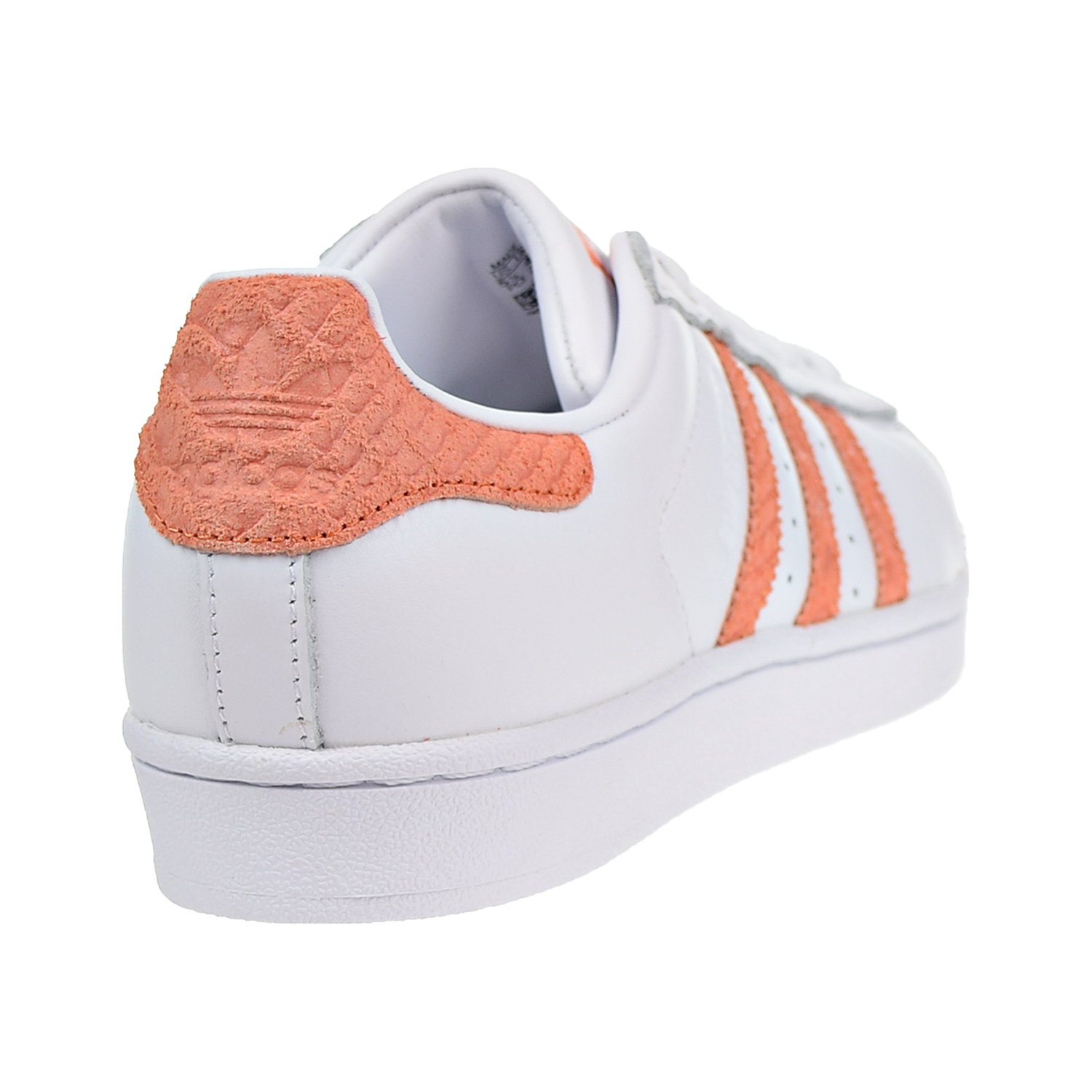 72d31a487c Adidas Superstar W Women s Shoes Footwear White Chalk Coral Off White cg5462