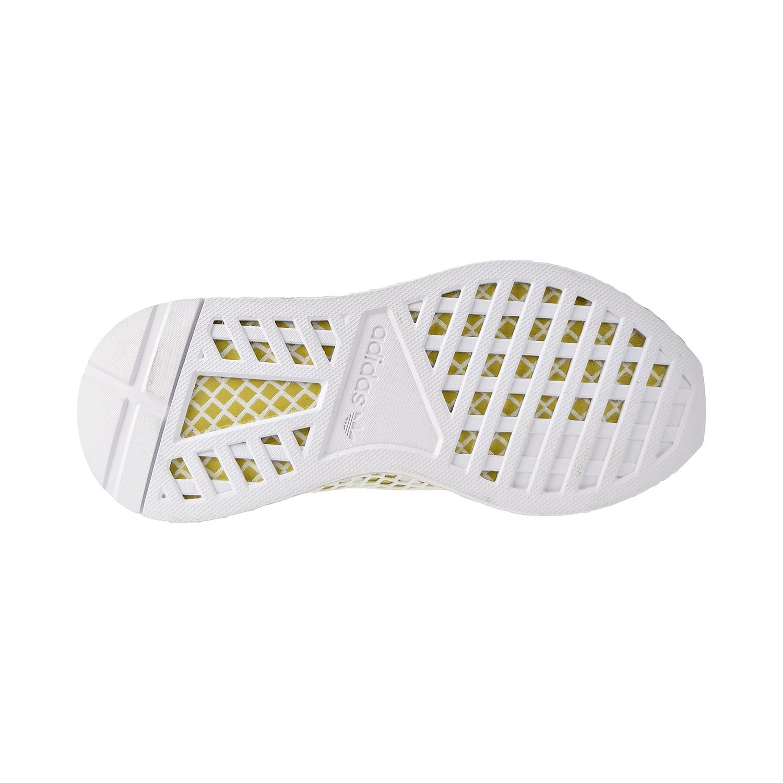 Details about Adidas Deerupt Runner Womens Shoes Footwear White/Gold  Metallic/White CG6087