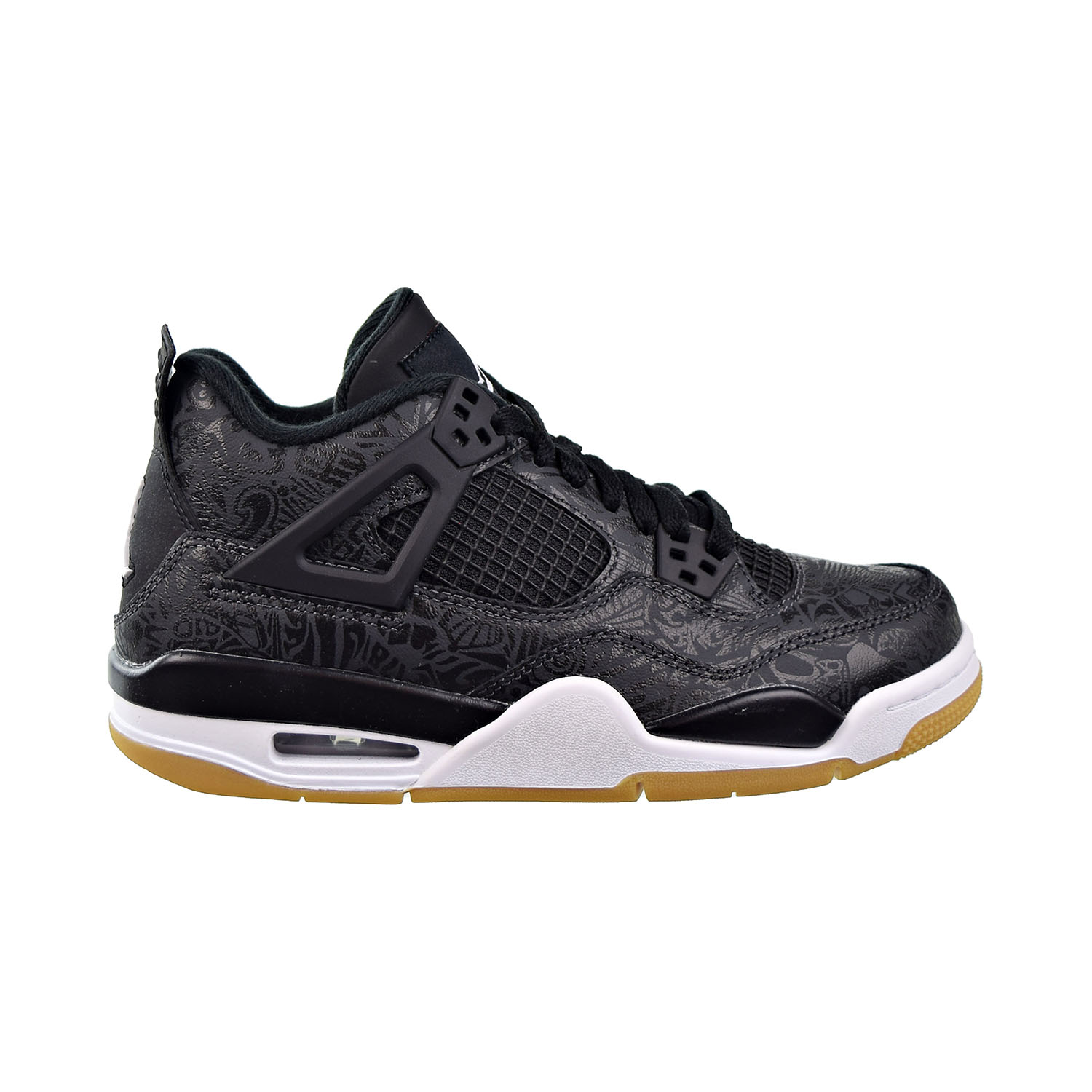 buy cheap a584e ea993 Details about Air Jordan 4 Retro SE (GS) Big Kids Shoes Black/White  Gum/Light Brown CI2970-001
