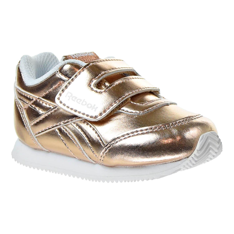 Reebok Royal Classic Toddler/'s Jogger 2.0 KC Shoes Silver Metallic//White CN1345