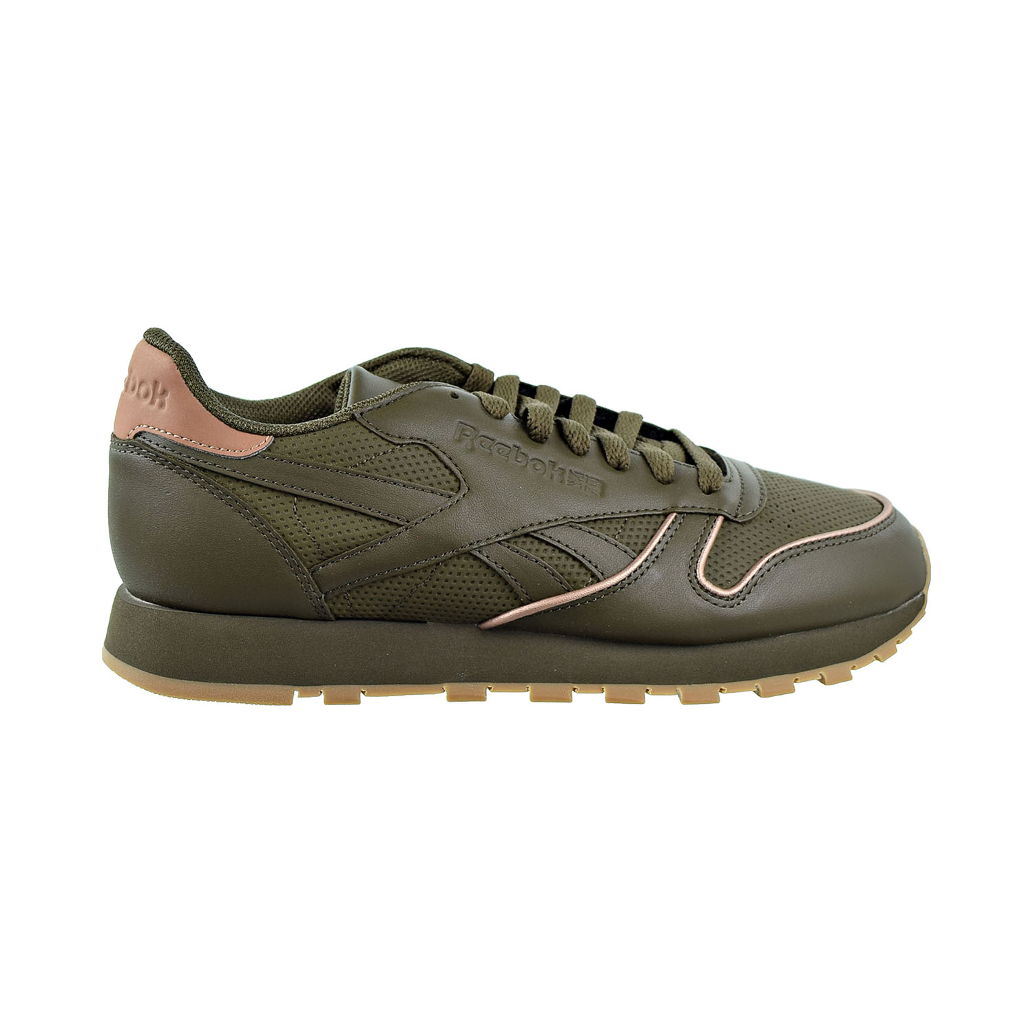 Shoes Army Green-Rose Gold-Gum CN2845