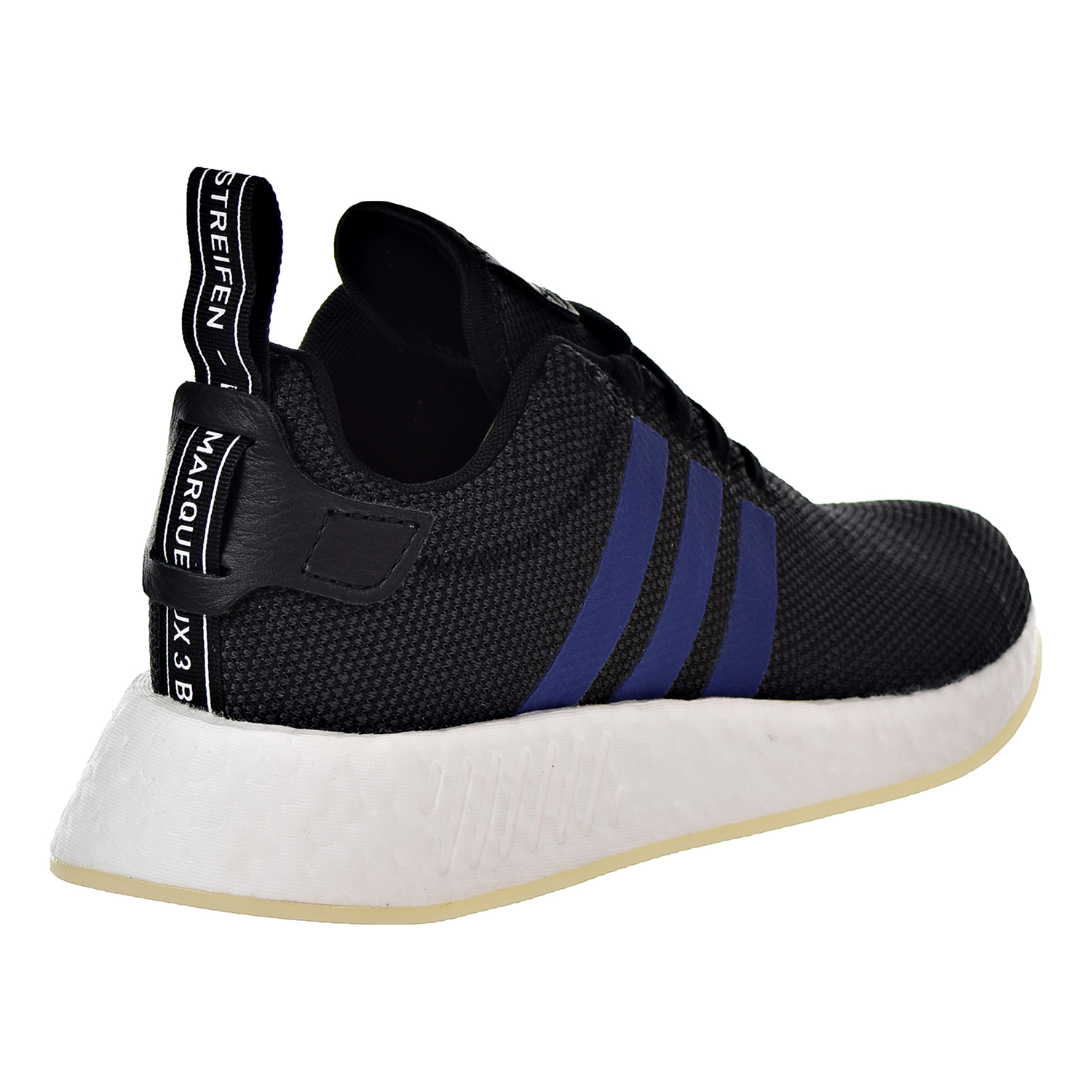 7282fd4dc Adidas NMD R2 Womens Shoes Core Black Noble Indigo Running White cq2008