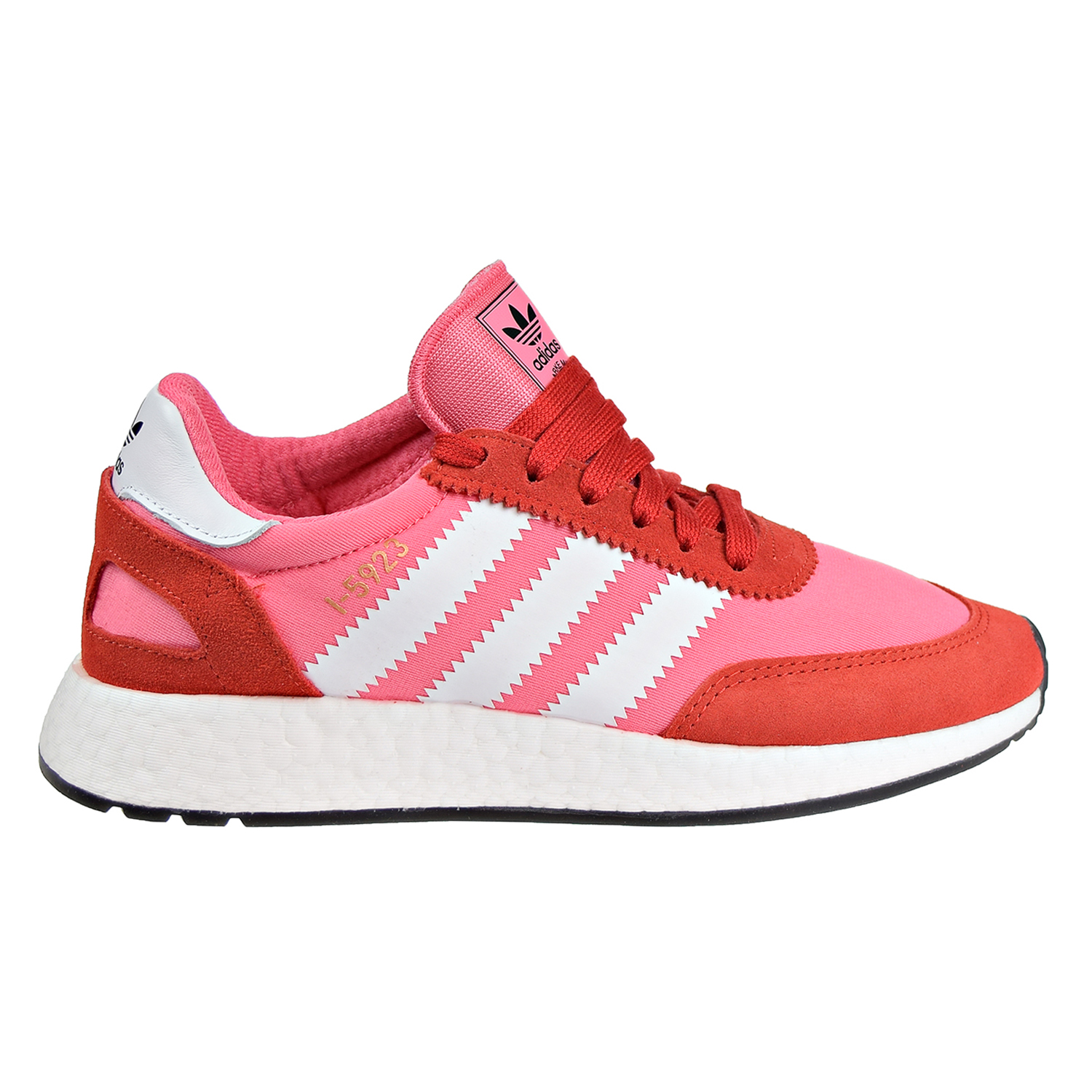 Details about Adidas I 5923 Women's Running Shoes Chalk Pink Footwear White Red cq2527