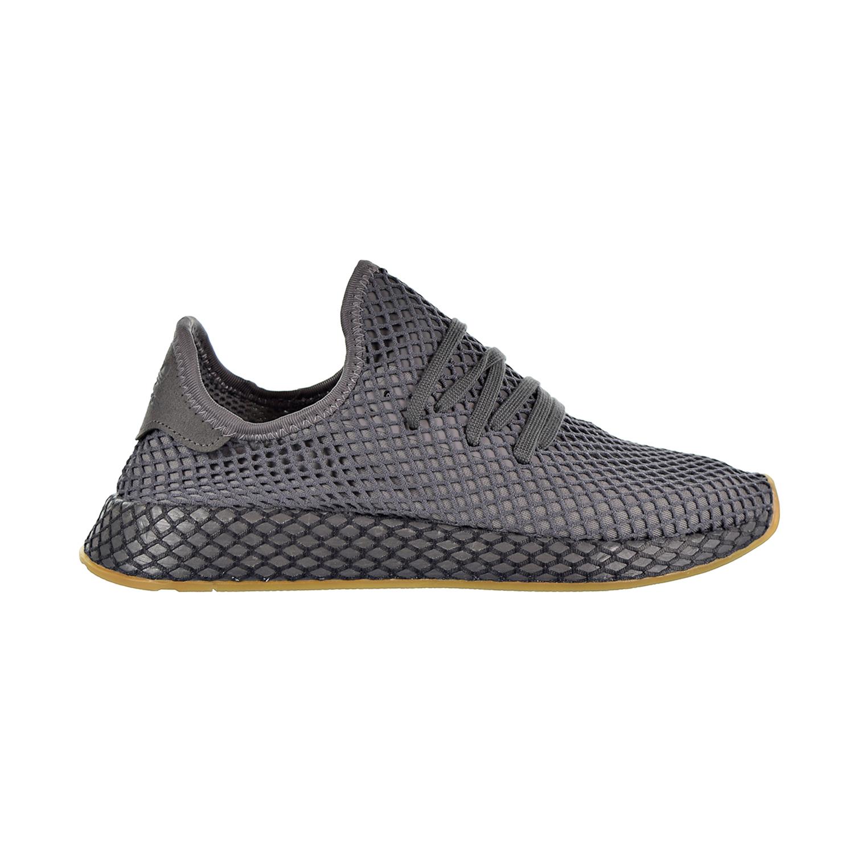 4a7e6f3b1f1cd Adidas Deerupt Runner Men s Shoes Grey Cloud White CQ2627