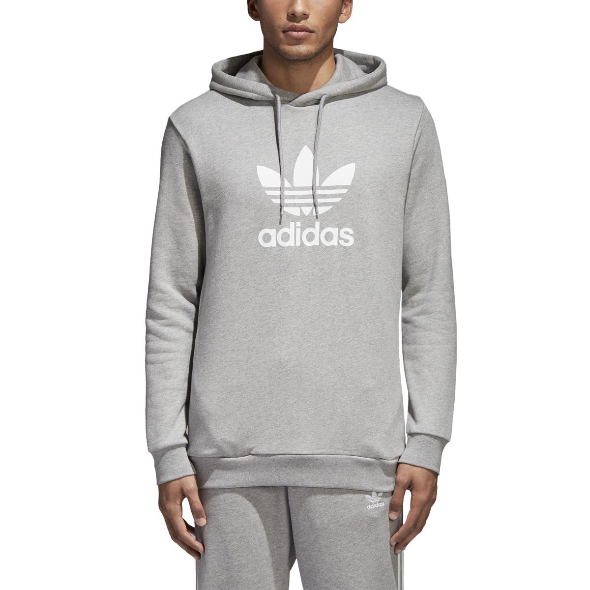 adidas Trefoil Hoodie Trainingsanzug Blau | adidas Deutschland