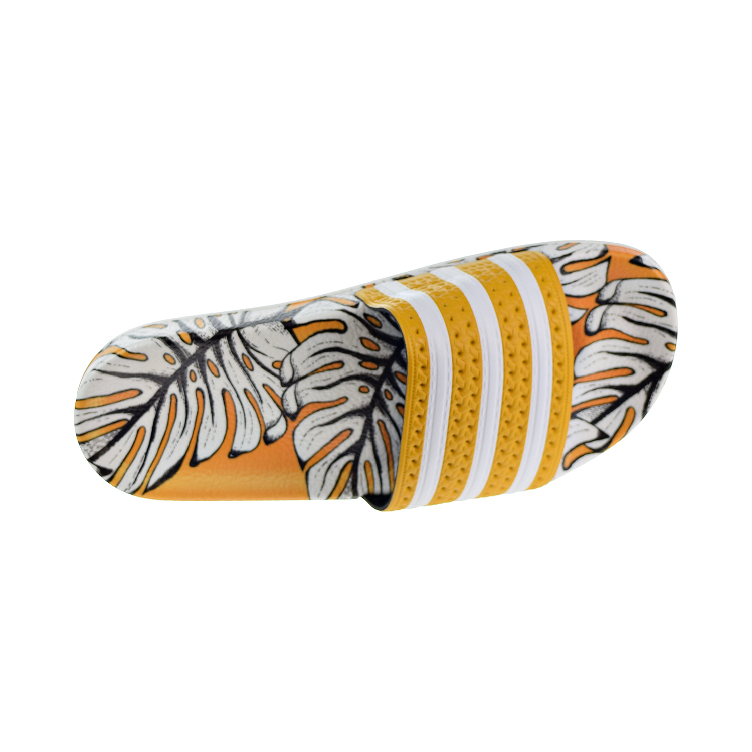 63f8f1ecb12fd5 Details about Adidas Adilette Women s Slides Yellow Off White Craft Gold  D96682