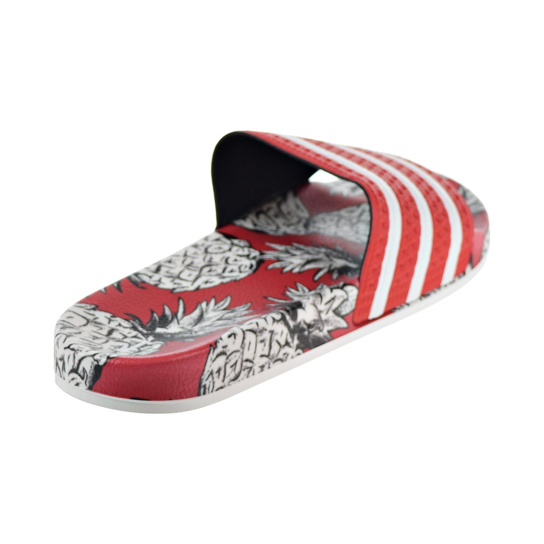 5ee790edde82b Adidas Adilette Women s Slides Scarlet Off White D96683