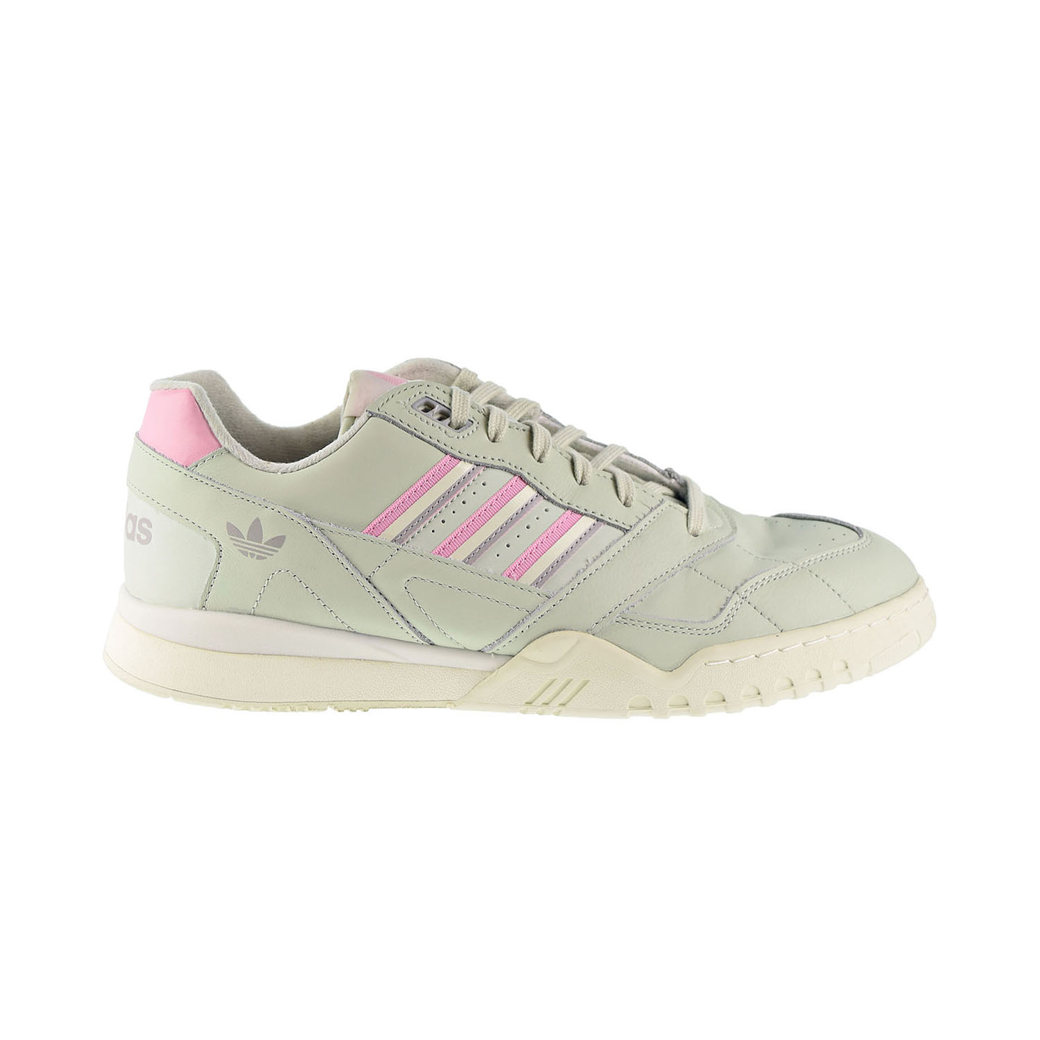 Details about Adidas Originals A.R. Trainer Men's Shoes Linen Green True Pink Off White d98156