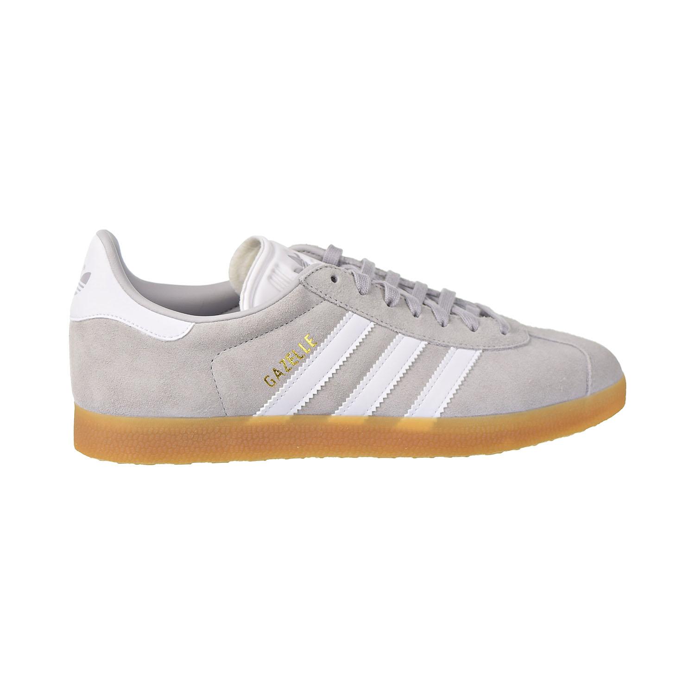 Details about Adidas Gazelle Mens Shoes Grey Two Cloud White Gum DA8873
