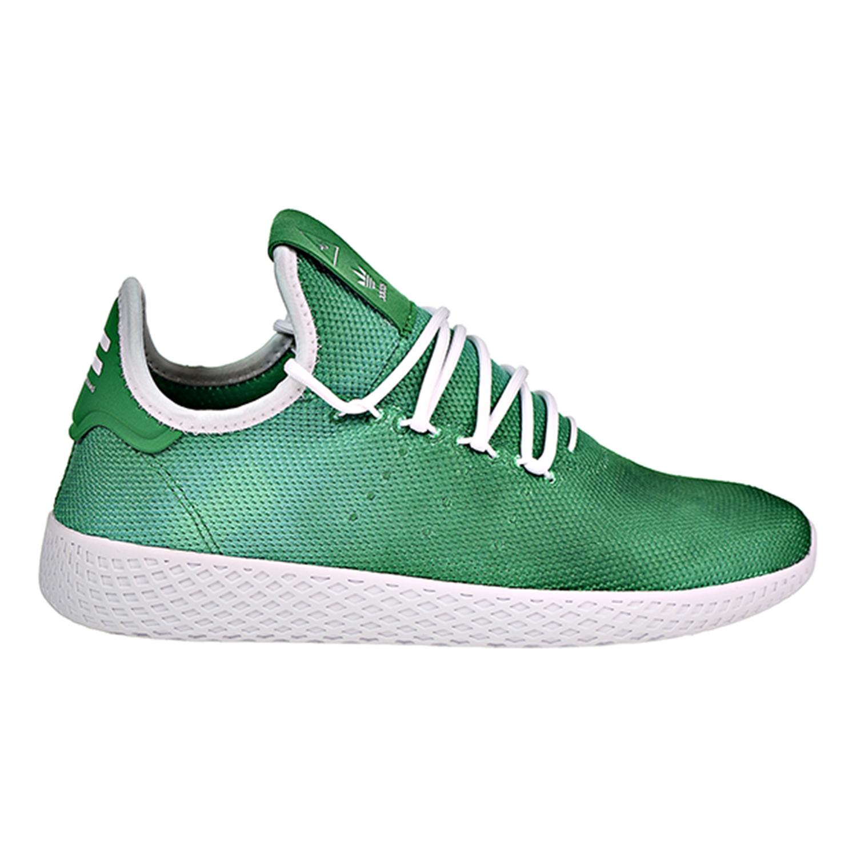 los padres de crianza es bonito Personas mayores  Adidas Pharrell Williams Holi Tennis HU Men's Shoes Green-White DA9619 |  eBay
