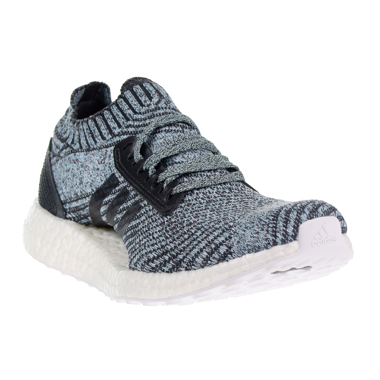 2f1f85321186b Adidas Ultraboost X Parley Women s Shoes Carbon Carbon Blue Spirit db0641