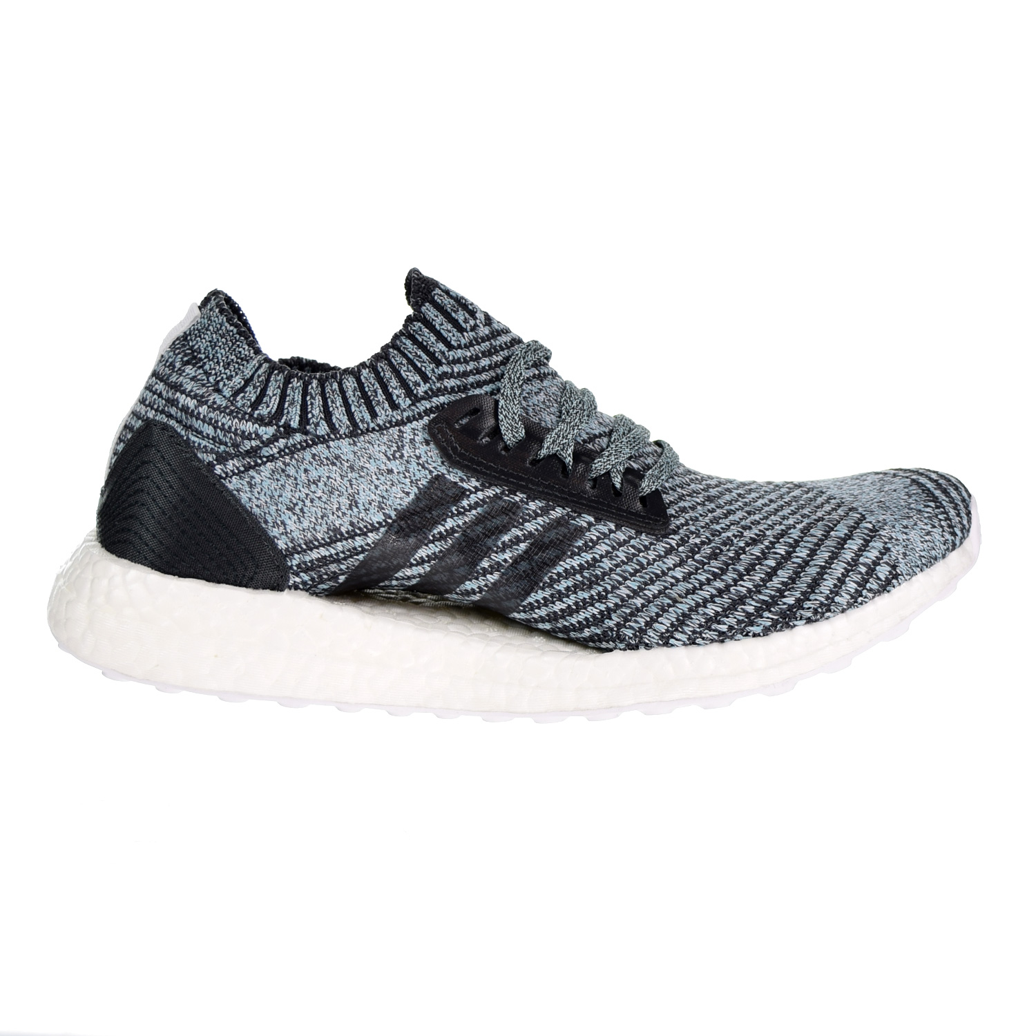 brand new d1a76 5ff6d Details about Adidas Ultraboost X Parley Womens Shoes CarbonCarbonBlue  Spirit DB0641