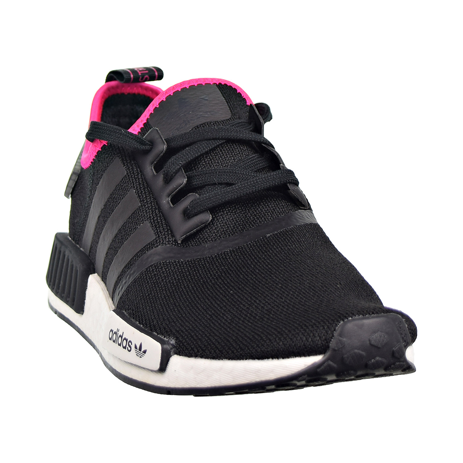Details about Adidas NMD_R1 Men's Shoes Core Black Shock Pink DB3586