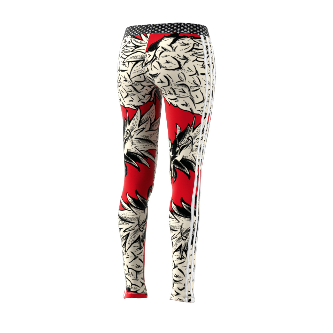 Details about Adidas Originals 3-Stripes Women s Athletic Fashion Tights  Multicolor dh3065 fdd7be6167