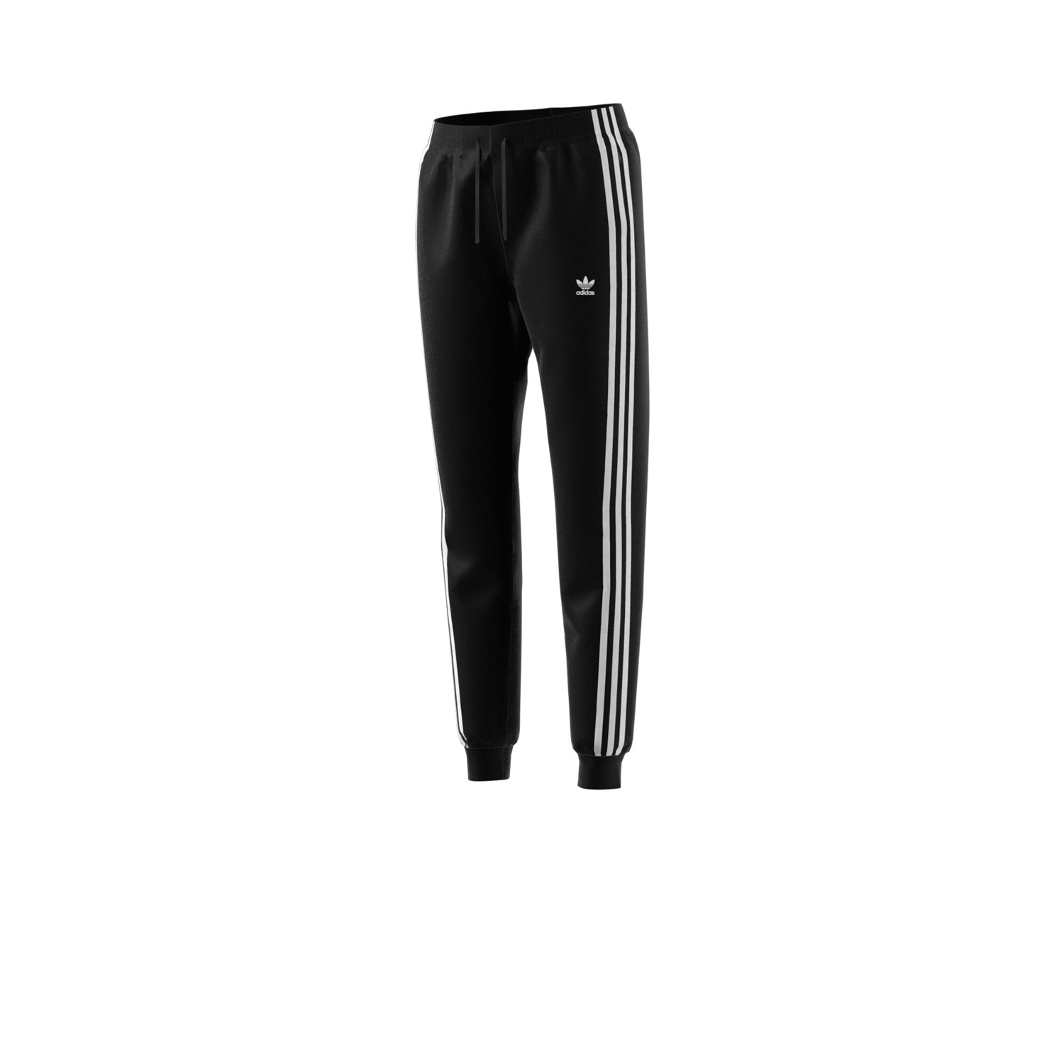 Details about Adidas Originals 3-Stripes Women's Cuffed Track Pants  Black/White dh3123