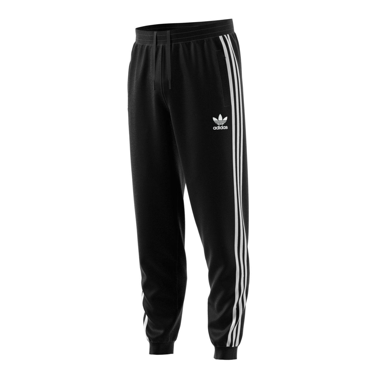Details about Adidas Originals 3-Stripes Men's Athletic Casual Fashion  Joggers Black dh5801