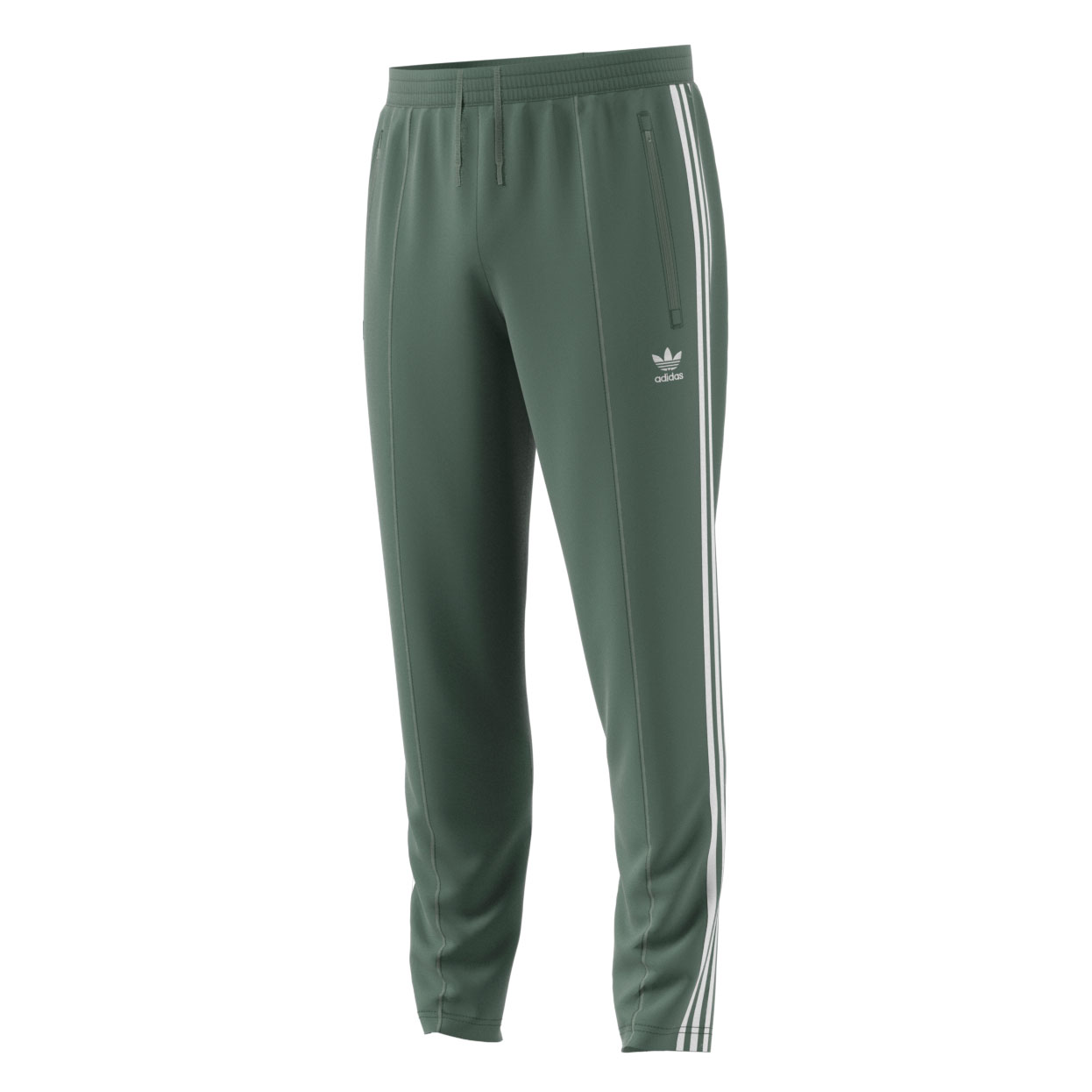 new styles d9e4b 5a04c Details about Adidas Originals Beckenbauer Mens Athletic Track Pants Trace  GreenWhite dh5818